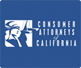 Logo de Consumer Attorneys of California